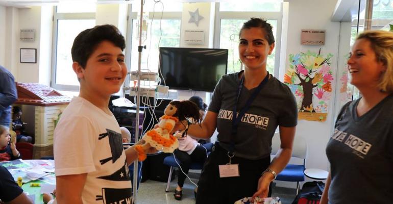 La donation de poupées artisanales au CCCL