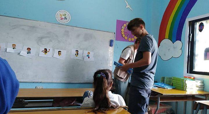 Un regard d'enfant posé sur Liban