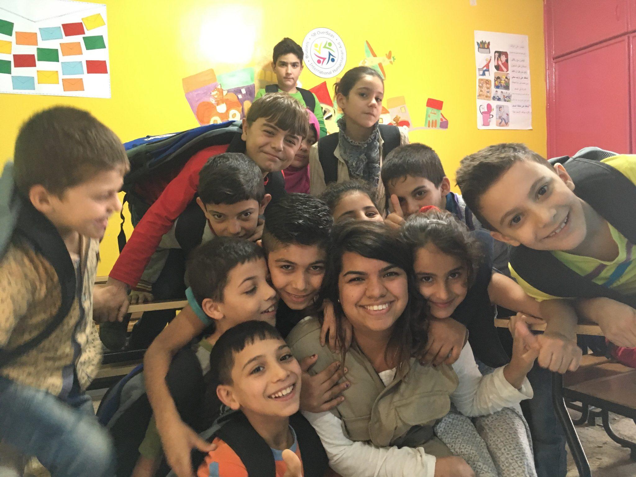 Mon expérience avec les enfants de Bukra Ahla
