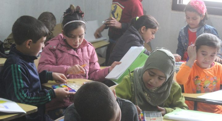 War zone charity school re-opens in Lebanon after ISIL retreat
