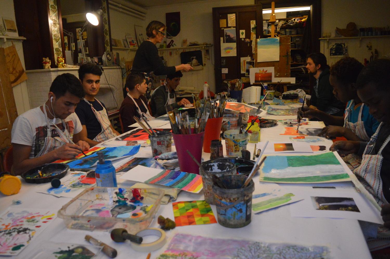SB ESPOIR: Painting a new start
