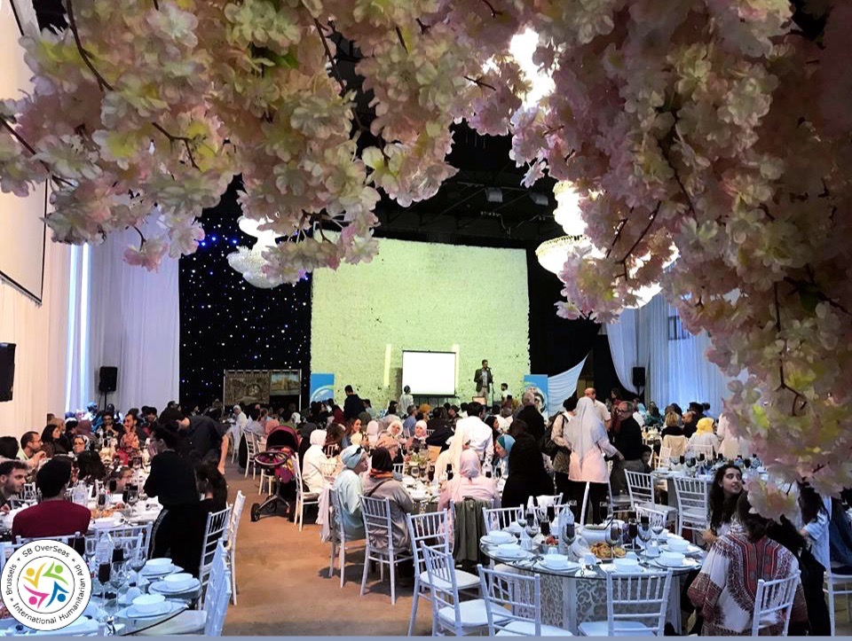 «Plus de 400 personnes se sont rendues à notre dîner annuel de collecte de fonds Iftar»
