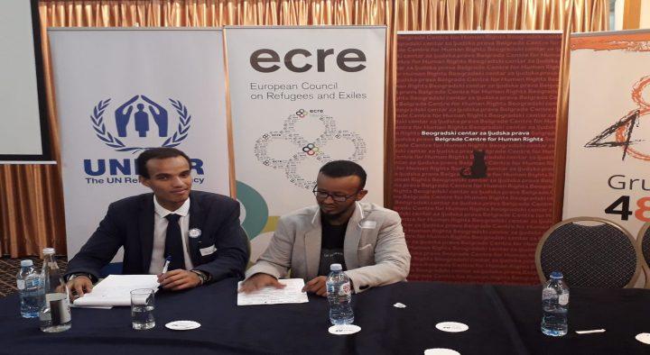 Les droits de l'homme et l'asile en Europe: rapport de a Conférence du ECRE à Belgrade
