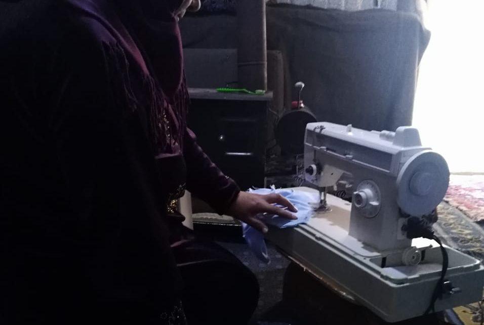 Les effets d'une machine à coudre